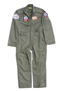 Kid Flight Suit with Badges