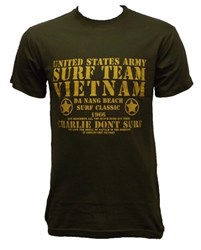 Surf Team Vietnam Motif T-Shirt