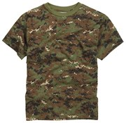 100% Cotton Basic Military Style T-shirt -DPM Digital