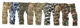 Military Style 6 Pockets Combat Trouser