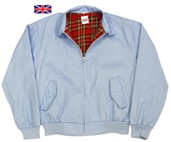 Classic Harrington Jacket Sky Blue
