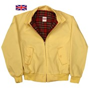Classic Harrington Jacket Yellow
