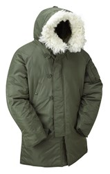 N3B Extreme Weather Parka- Green