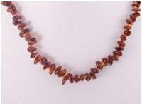 All About Amber Teething Necklace - Cognac Chips