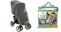 Goldbug - Stroller Capsule Netting - Black