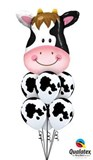 Farmyard Cow Balloon Bouquet