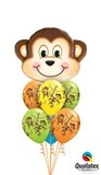 Mischievous Monkey Balloon Bouquet