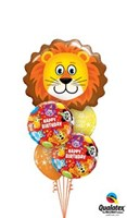 King Of The Jungle Birthday Balloon Bouquet