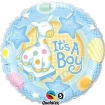 It's A Boy Balloon In A Box