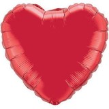 Big Heart Foil Balloon 90cm
