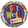 Get Well Spots Balloon In A Box