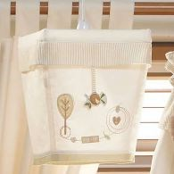Organic cotton lampshade