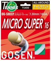 GOSEN OG-SHEEP MICRO SUPER 16 Tennis Strings