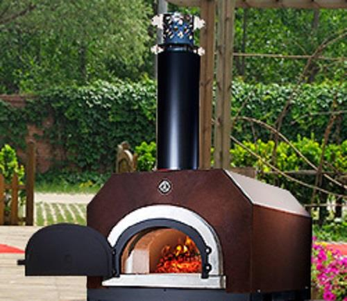 Chicago Brick Oven Cbo 500 Countertop Outdoor Wood Fired
