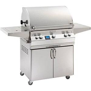 Fire Magic Aurora A540s on Cart Natural Gas Bbq Grill with rotisserie backburner- A540s-6E1n-61