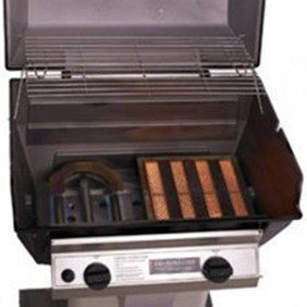 BROILMASTER R3BN Infrared Gas Grill Head Combination Natural Gas #R3BN w/infrared burner & blue flame burner