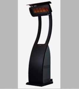 Bromic Heating Tungsten Smart-Heat 38,500 BTU  Gas Freestanding Portable Patio Heater - BH0510001