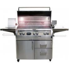Fire Magic Echelon Diamond E660s Gas Grill W/ Single Side Burner & One Infrared Burner On Cart E660s-4L1P-62