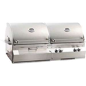 Fire Magic Aurora A830i Built-in Dual Natural Gas And Charcoal Combo Bbq Grill - A830i-5ean-cb