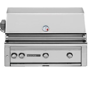 Lynx Sedona 36-Inch Built-In  Gas Grill With One Infrared ProSear Burner And Rotisserie L600PSR