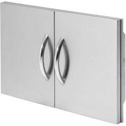 Cal Flame 30 in. Double Stainless Steel Access Door - BBQ10839P-30