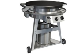 EVO Professional Classic Gas-Fired Flattop Grill With Wheeled Cart 10-0002-LP