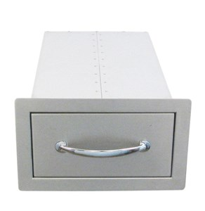 SUNSTONE 14 INCH FLUSH SINGLE ACCESS DRAWER #B-SD6