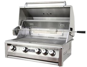 "Allegra 32"" Stainless Steel Built In Grill  With Rotisserrie - AHT-AL32R-BI-C"