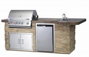 Bull - Outdoor BBQ Island Kitchen