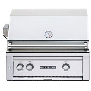 Lynx Sedona 30-Inch Built-In Gas Grill With Rotisserie - L500R