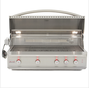 Blaze Professional 44-Inch 4 Burner Built-In Gas Grill With Rear Infrared Burner BLZ-4PRO