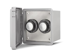 Infratech On/Off Switch - Dual Surface Mount With Weatherproof Box  For Electric Heater  14-4415