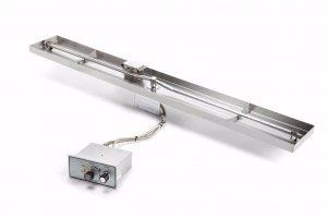 HPC Interlink Linear Flat Pan – Push Button / Flame Sensing - FPPK49X8-L-FLEX