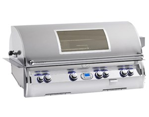 Fire Magic 50 inch Echelon Diamond E1060i-4L1N-W Natural Gas BUILT IN GRILL with 1 infrared burner & magic view window
