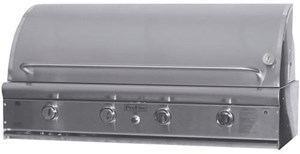 ProFire Professional Deluxe Series 48-Inch Built-In  Gas Grill With Double Side Burner - PFDLX48S