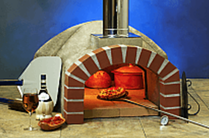 FORNO BRAVO Casa70 Wood Fired Pizza Oven Kit – 36″ cooking floor