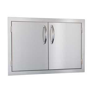 STG Excalibur Premier 30-in. Stainless Steel Double Access Door STGDD-30