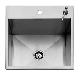 TWIN EAGLES 24″ DROP-IN OUTDOOR SINK -  TEOS24-B