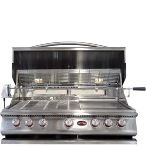 CAL FLAME P5 - 40 INCH DROP IN / BUILT IN GRILL BBQ13P05