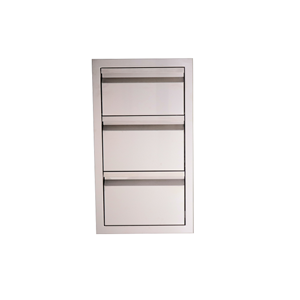 RCS VALIANT SERIES STAINLESS STEEL DOUBLE DRAWER WITH PAPER TOWEL HOLDER  - VTHC1  NEW 2018 MODEL