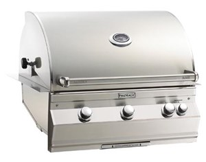 Fire Magic Aurora Built In Gas Grill - Natural Gas, With Rotisserie - A660i-6e1nw