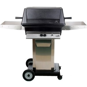 PGS A40 Cast Aluminum Natural Gas Grill/ Stainless Steel Portable Pedestal Base A40NG+AS-PED+ANC