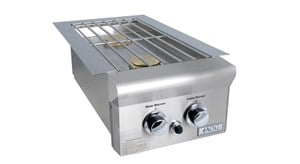 AMERICAN OUTDOOR GRILL(AOG) Built-In Double Sideburner