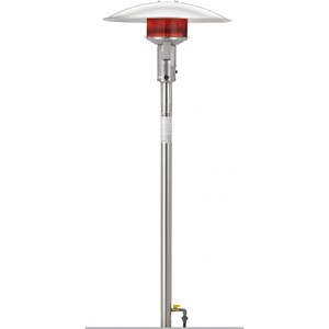 Sunglo PSA265VSSE 50000 Btu 24-volt NG Post-mount Patio Heater w/ Electronic Ignition