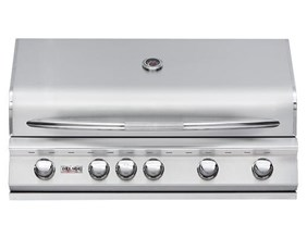 DELSOL 40″ Outdoor Built in Gas Grill with Infrared Rotisserie Burner DSBQ40R