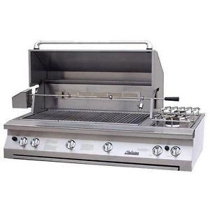 Solaire 56-in InfraVection Built-In Grill Rotisserie | Dbl Side Burner  SOL-AGBQ-56VI
