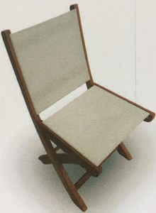 ROYAL TEAK COLLECTION TEAK SailMate SIDE CHAIR( NO ARM REST) #SMS