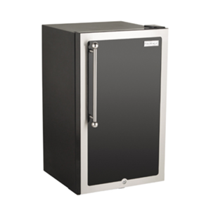 FireMagic BLACK DIAMOND REFRIGERATOR LEFT HINGED DOOR 3590H-DL