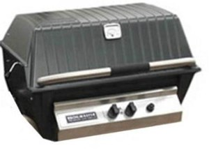 BROILMASTER DELUXE GAS GRILL HEAD, Natural Gas 36,000 BTU H4XN