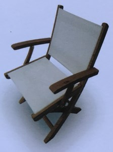 ROYAL TEAK COLLECTION TEAK SailMate ARM CHAIR#SMC